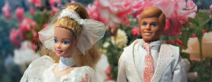 Ken and Barbie wedding