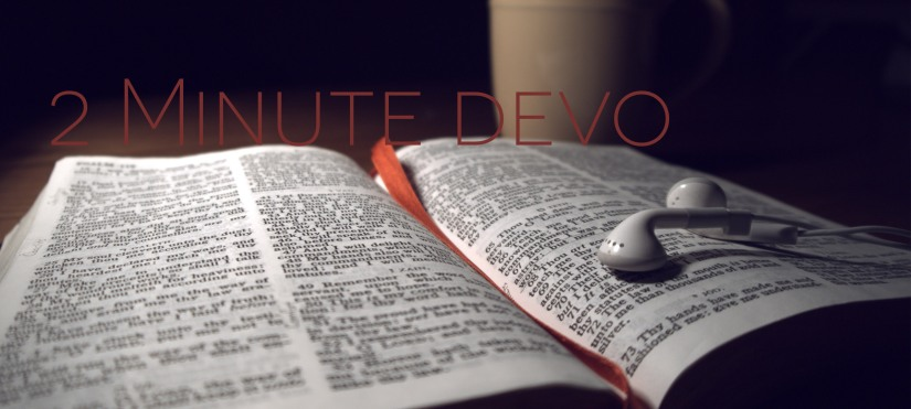2 Minute Devo Series: Book of Matthew Day 5
