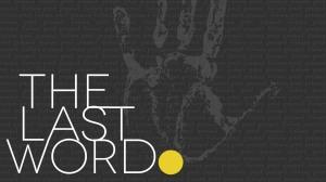 The Last Word Slide