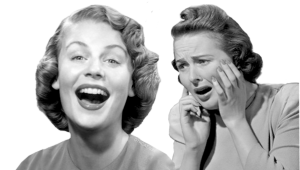 laughing-and-crying-women-at-soap-operas-1940s