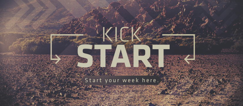 Monday Kfirst Kickstart: Making Space for God to Move #Playlist