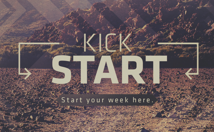 "Monday Kfirst Kickstart: ""Pivot into Progress"" #PivotPoint"