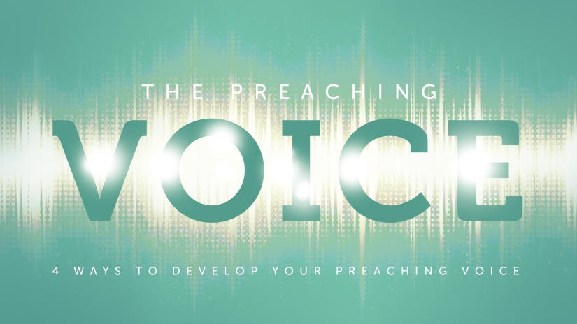 Pastor to Pastor: 4 Ways to Develop Your Preaching Voice