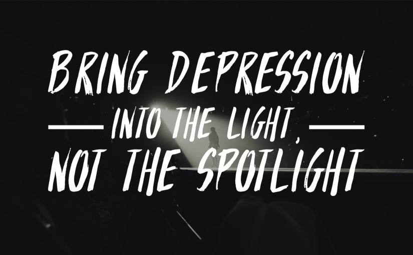 Preaching From the Shadows: Bring Depression into the Light, not theSpotlight
